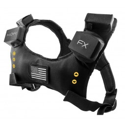 KOR-FX Gaming Vest + optical adapater