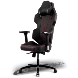 Quersus E303 Gaming Chair (Black/Red)